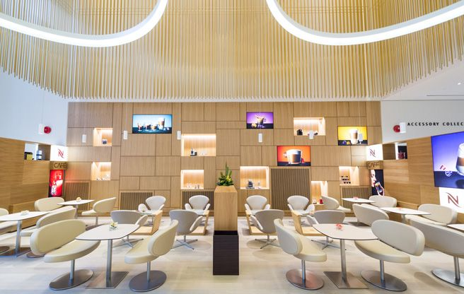 Introducing nespresso boutique bar a square foot