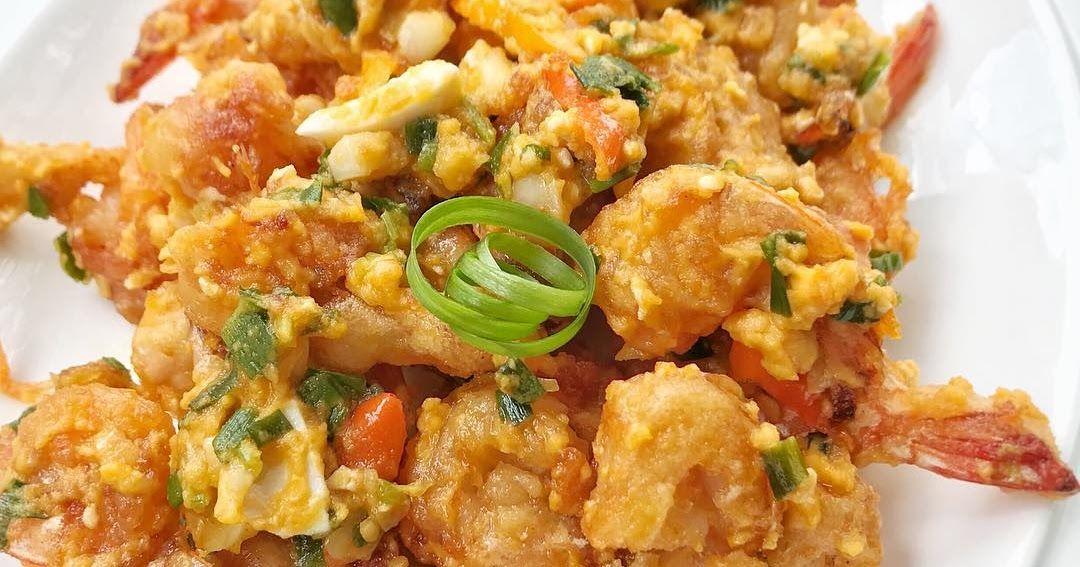 Resep Udang Krispi Saus Telur Asin By Dianayupuspitasari Resep Udang Resep Masakan Indonesia Resep Masakan