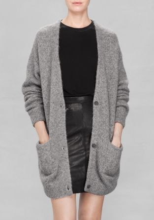 & Other Stories | Wool-Blend Cardigan | Skal/skal ikke ...