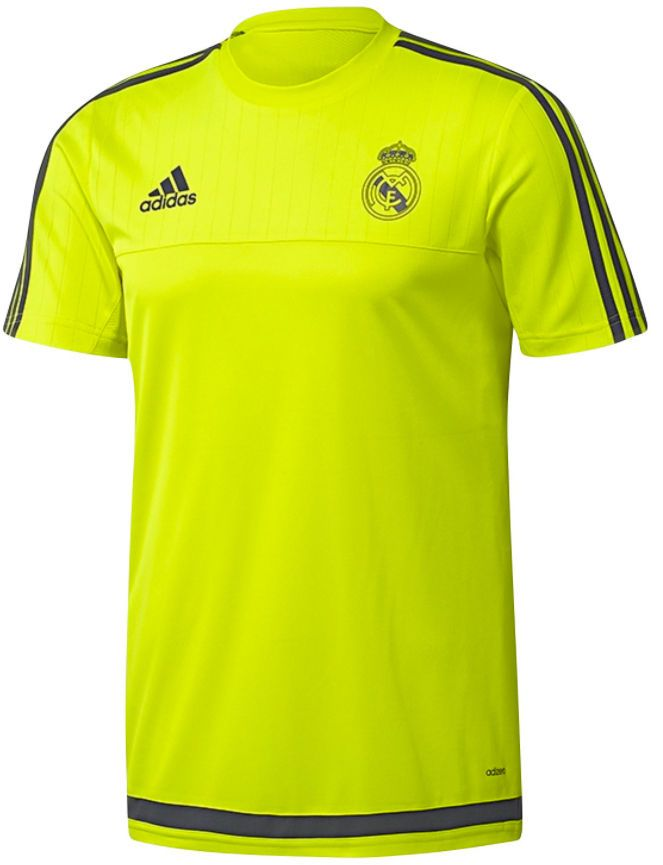 1a5e1d00b19 Adidas boys real  madrid adizero green t shirt top tee  training 15-16