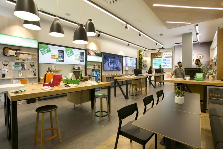 Spark store by spaceworks auckland new zealand retail design blog