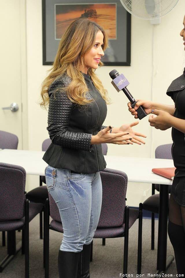 #JackieGuerrido wearing #JackieGJeans at Interview . Visit ... Jackie Guerrido Jeans