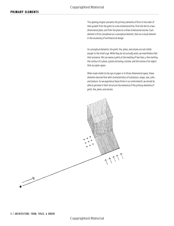architecture: form, space, and order: francis d. k. ching