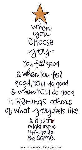 Lynn Warner: {Post #1,014} Choose Joy...