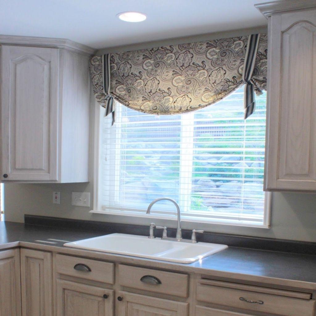 Garden Kitchen Windows Bay Window Above Kitchen Sink: Kitchen Window Valances Ideas Ideas Kitchen Window