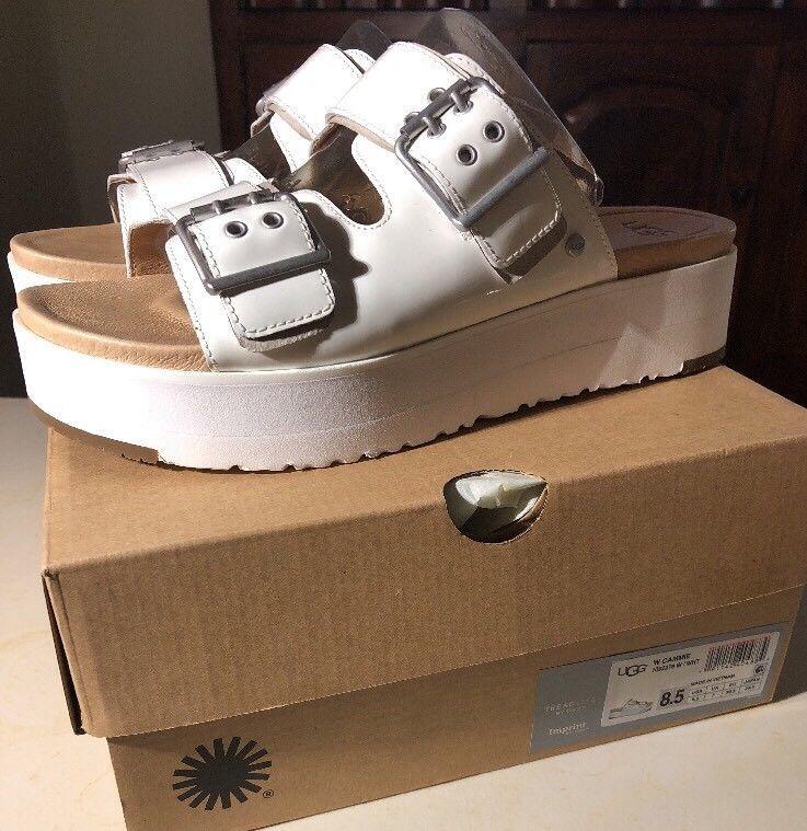 83edd5c2edcf UGG CAMMIE WHITE PATENT LEATHER SLIDE PLATFORM SANDALS SZ 8.5 1092276  AUTHENTIC  fashion  clothing  shoes  accessories  womensshoes  sandals  (ebay link)