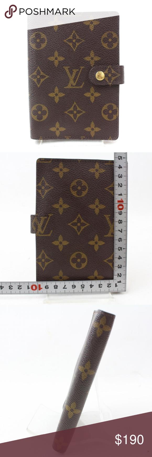 Auth Louis Vuitton Diary Cover Agenda Pm 200lw69 Agendas