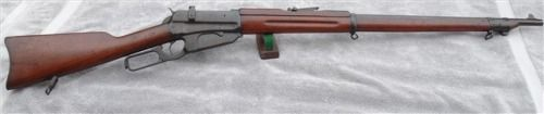 gunrunnerhell:  Winchester M1895 A unique lever-action because...