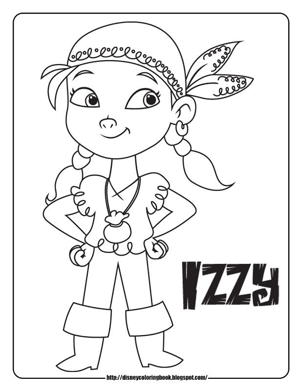 Disney Junior Jake And The Neverland Pirates Coloring Pages | Color ...