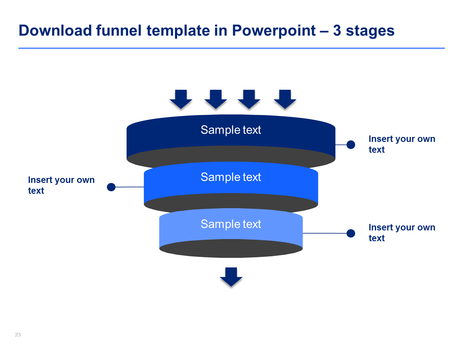 funnel diagram templates | students, Modern powerpoint