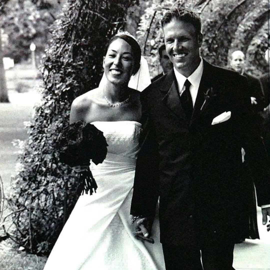 wedding throwback😍😍 (more coming) - - - - - -  @joannagaines @chipgaines @hgtv @magnolia #fixerupper #shiplap #demoday #waco #texas #chip #joanna #gaines #magnolia #magnoliafarms #magnoliapress #magnoliabakery #magnoliatable #silos #fixer #drake #duke #emmie #ella #crew #hgtv