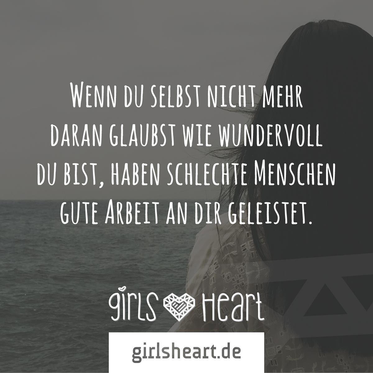 selbstwert sprüche Mehr Sprüche auf: .girlsheart.de #selbstvertrauen  selbstwert sprüche