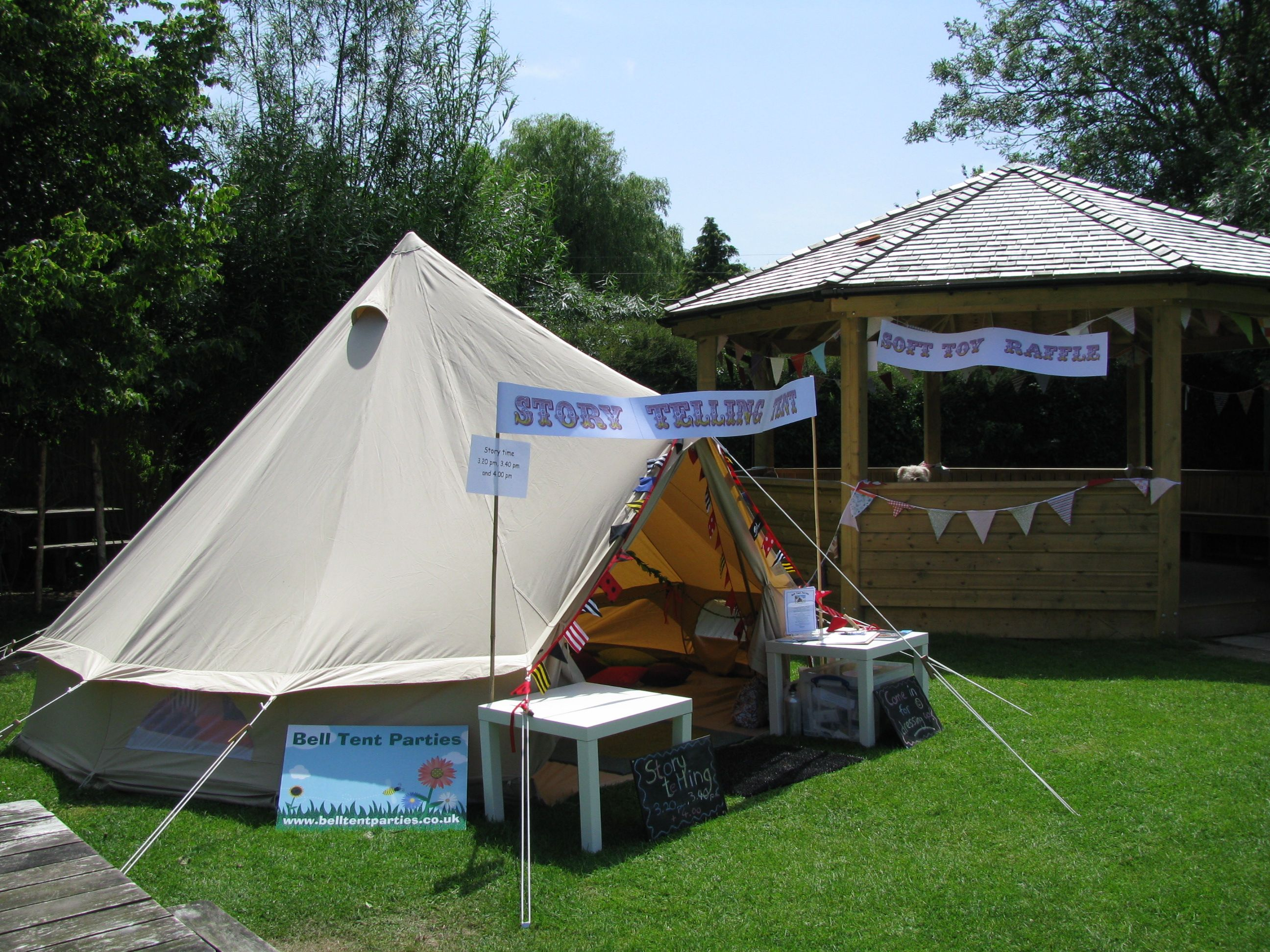 Storytelling tent @ the March school summer fair. : fair tent - memphite.com