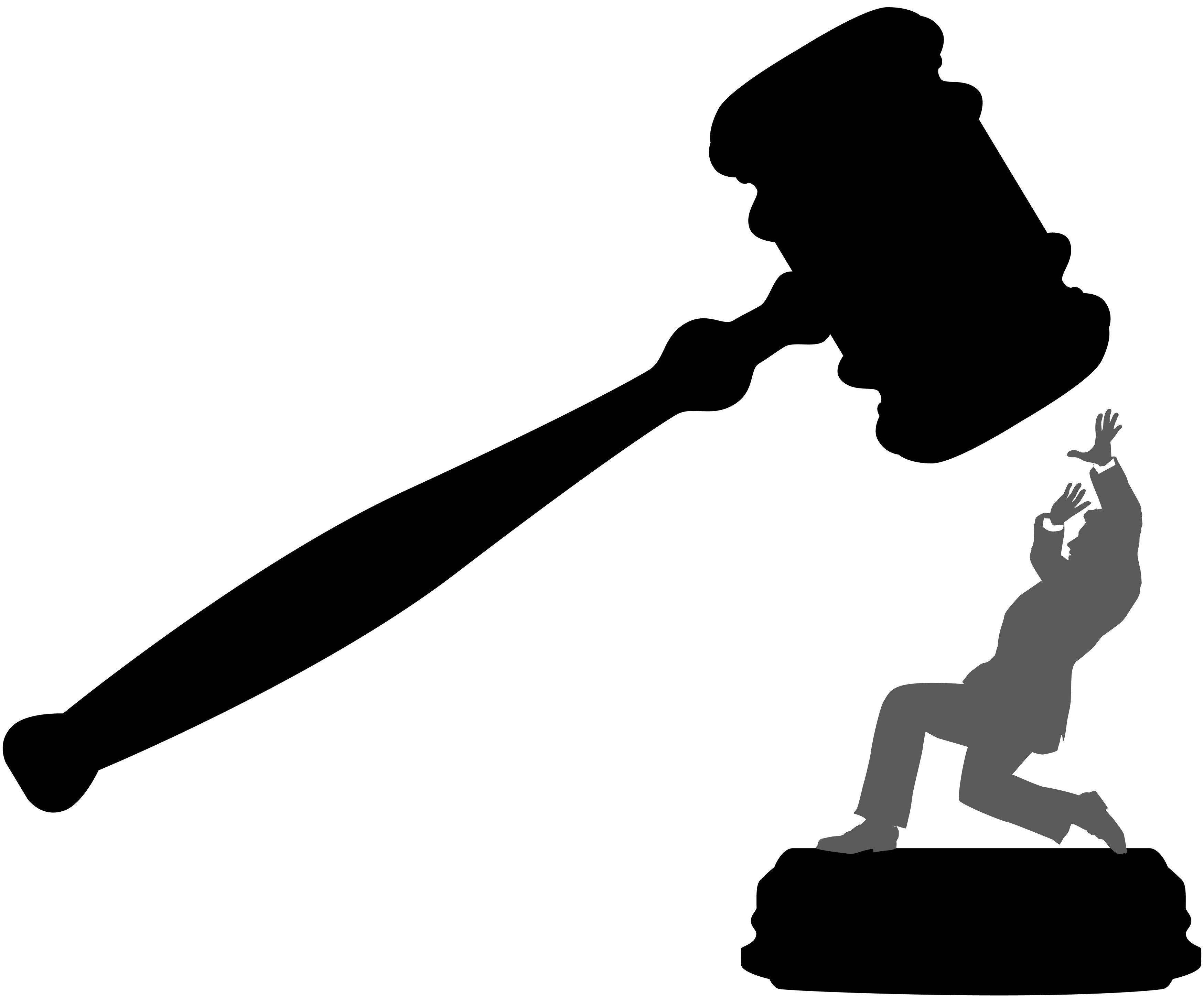 Law Gavel Clipart Clipart Kid Divorce Human Silhouette Clip Art