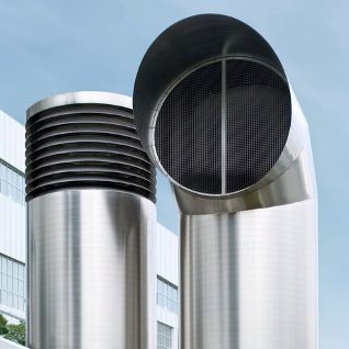 Awadukt Thermo Commerical Air Inlet Towers Rehau Heat