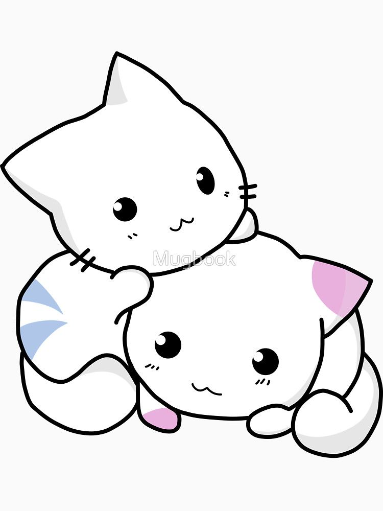 Cute anime kittens\