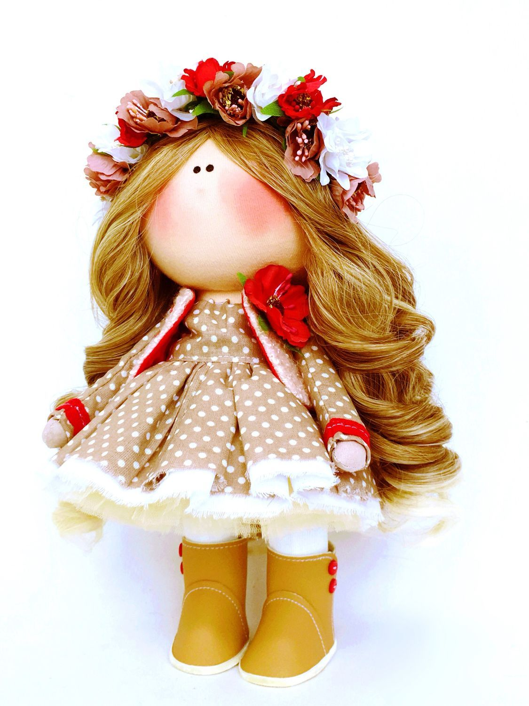 """Текстильная кукла """"Любовь» – заказать на Ярмарке Мастеров ..."""