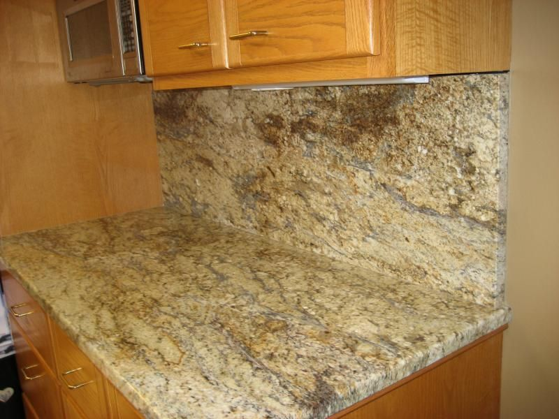 Honey Granite Slabs : Kitchen on pinterest oak cabinets granite tile