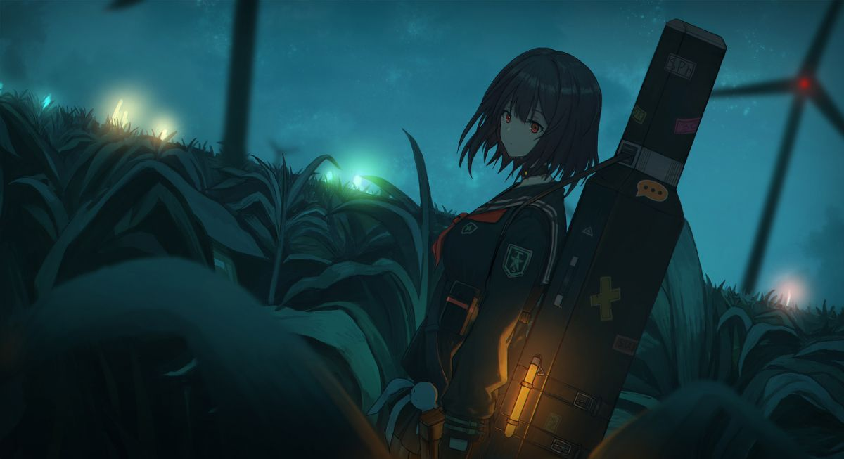 Night Glow Original Anime Wallpaper Anime Art Fantasy Hd Anime Wallpapers