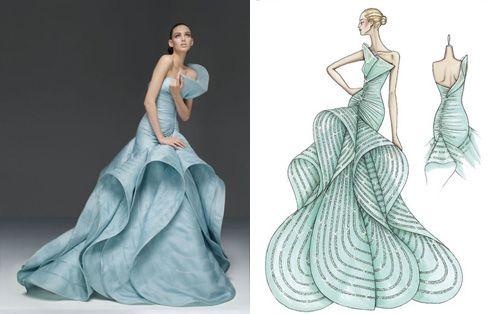 atelier versace sketches | Pinterest | Versace, Versace wedding ...