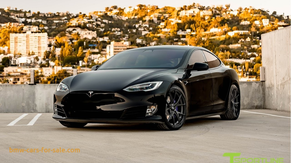 tesla model s p100d black with custom purple accents trim fully customized exterior