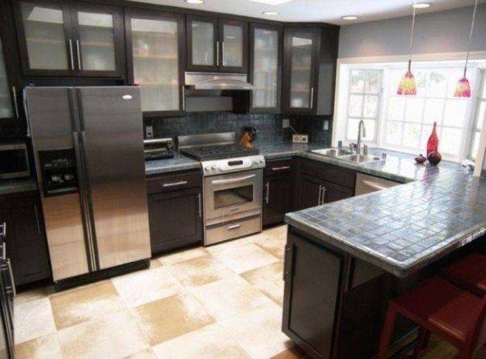 Luxury Black Kitchen Cabinets  Kitchen Ideas  Pinterest  Black Impressive Dark Kitchen Designs Decorating Design