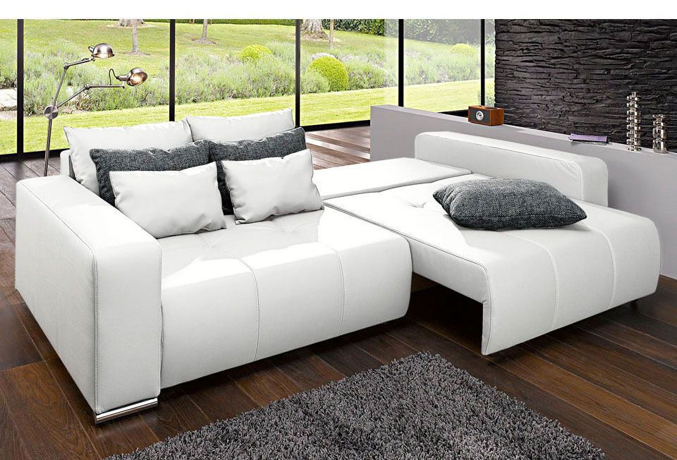 big sofa mit bettfunktion rechnung ratenkauf dream. Black Bedroom Furniture Sets. Home Design Ideas