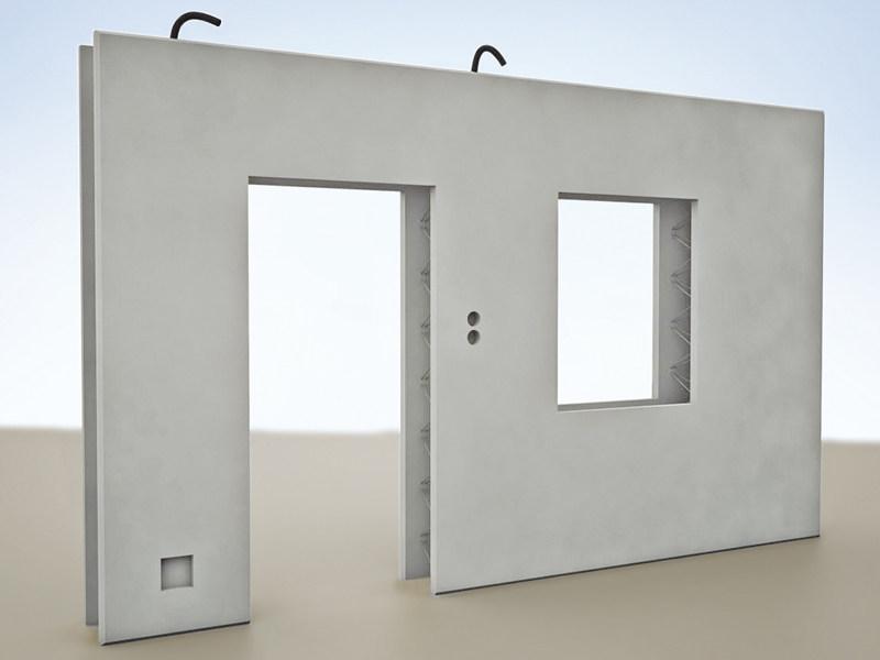 Prefabricated Reinforced Concrete Panel Double Wall By Progress Concrete Panel Concrete Wall Panels Precast Concrete