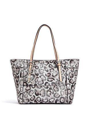 Women's Animal Print Shoulder Bags
