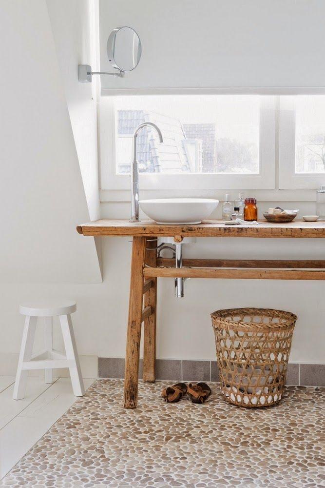 Waschbecken Auf Altem Möbel