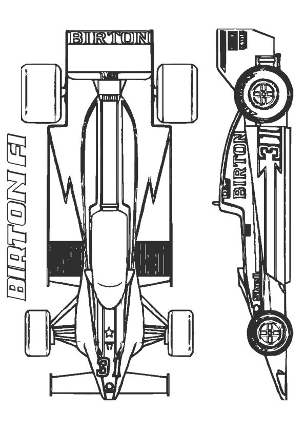 Print Coloring Image Momjunction Cars Coloring Pages Coloring Pages Race Car Coloring Pages