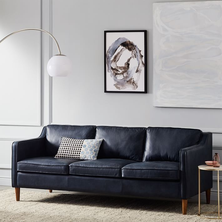 """2293 Best Images About Leather Sofas And Living Room: Hamilton Leather Sofa (81"""")"""