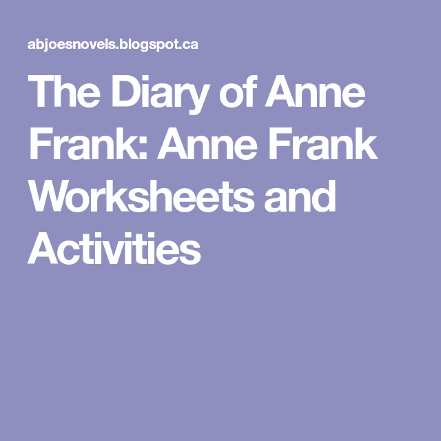 analysis of the diary of anne frank and insights into the life of people during world war ii Anne frank changed history through her diary, which not only enlightened the world to the suffering of the jews during the holocaust, but also showed the strength of the human spirit anne frank's diary, published as the diary of a young girl, is one of the most popular books in the world.