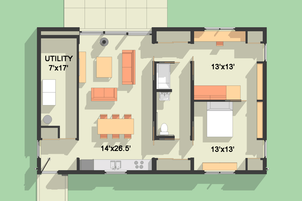Houseplans small modern housestiny