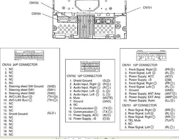 Toyota Car Radio Stereo Audio Wiring Diagram Autoradio Connector Wire Installation Schematic Schema Esquema De Conexiones Toyota Vios Pioneer Car Stereo Toyota