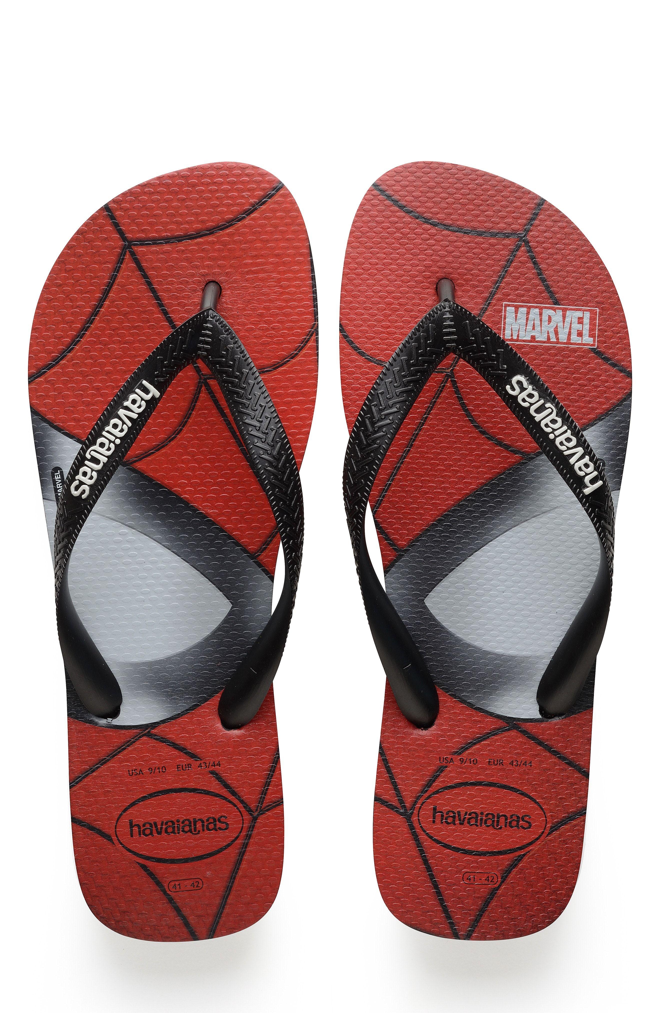 QUIKSILVER MEN/'S BLACK FLIP FLOP SANDALS RED WHITE GRAPHICS RUBBER SOLE size 12