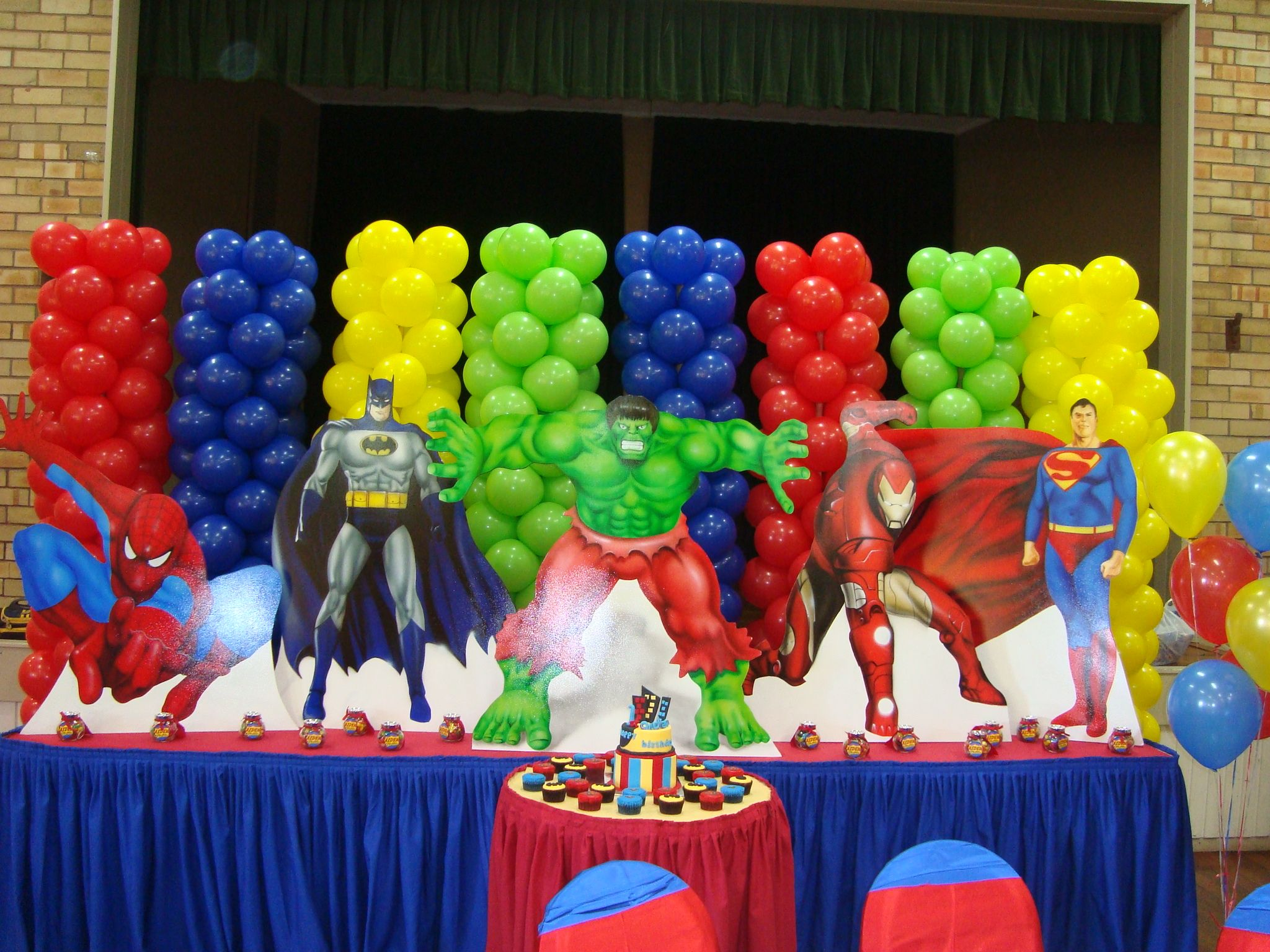 Superheroes Birthday Party Ideas The Application Of Superhero