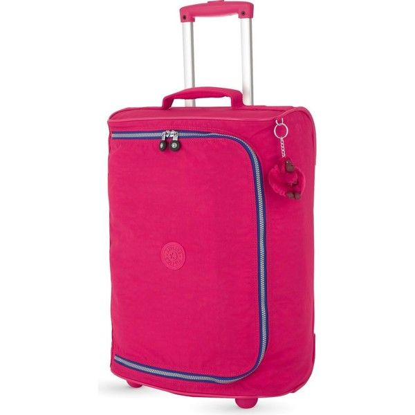 KIPLING Teagan extra-small two-wheel suitcase 50cm ($130) ❤ liked ...