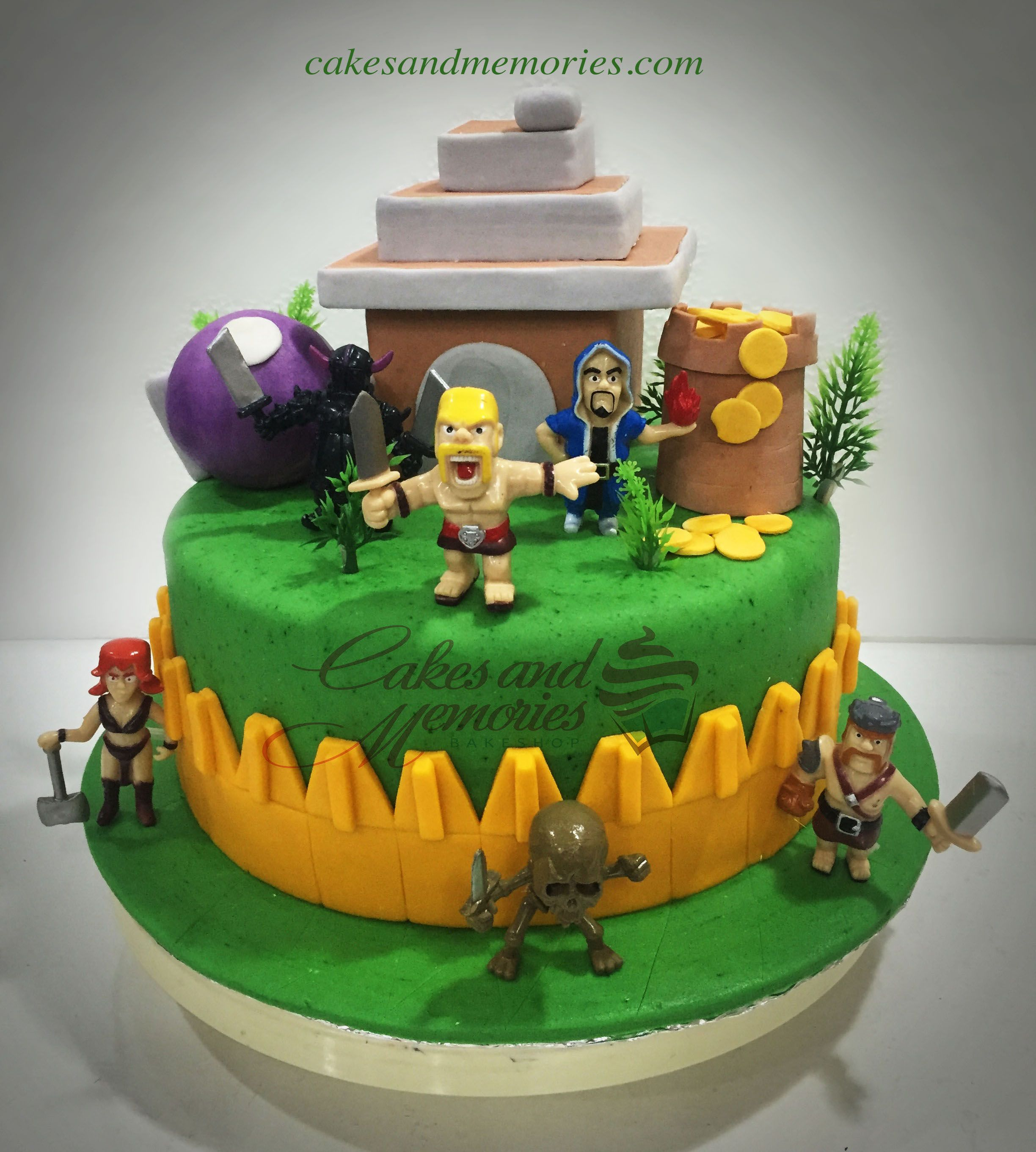 Cake Design Coc : Clash of Clans 10