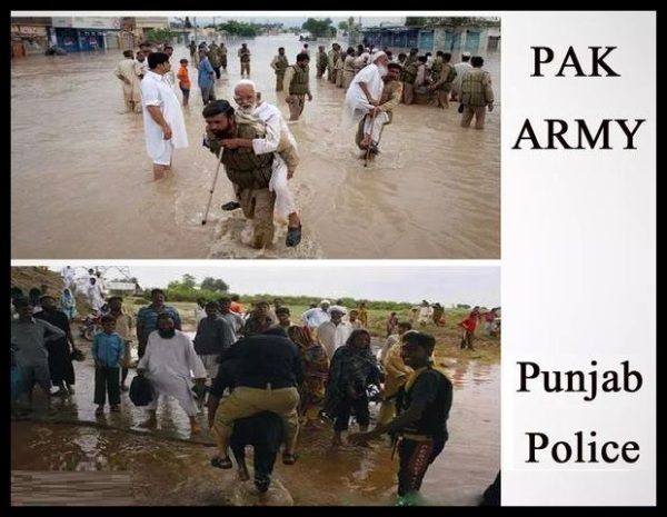 Pak Army Vs Punjab Police Best Funny Picture Funnyho Com With
