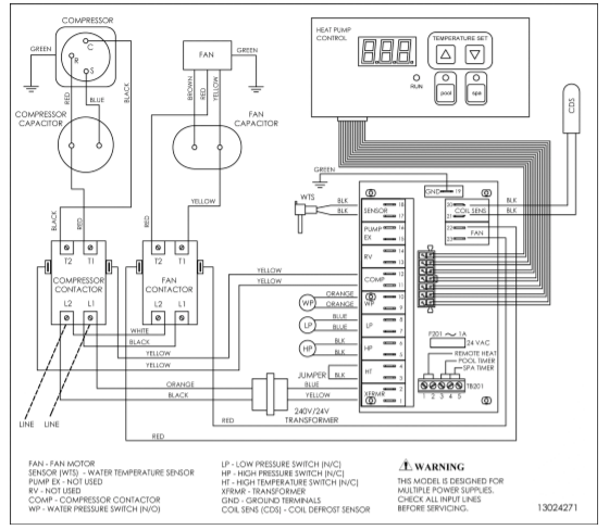 Hp21104t Wiring Diagram Pool Heater Floor Plans Pool