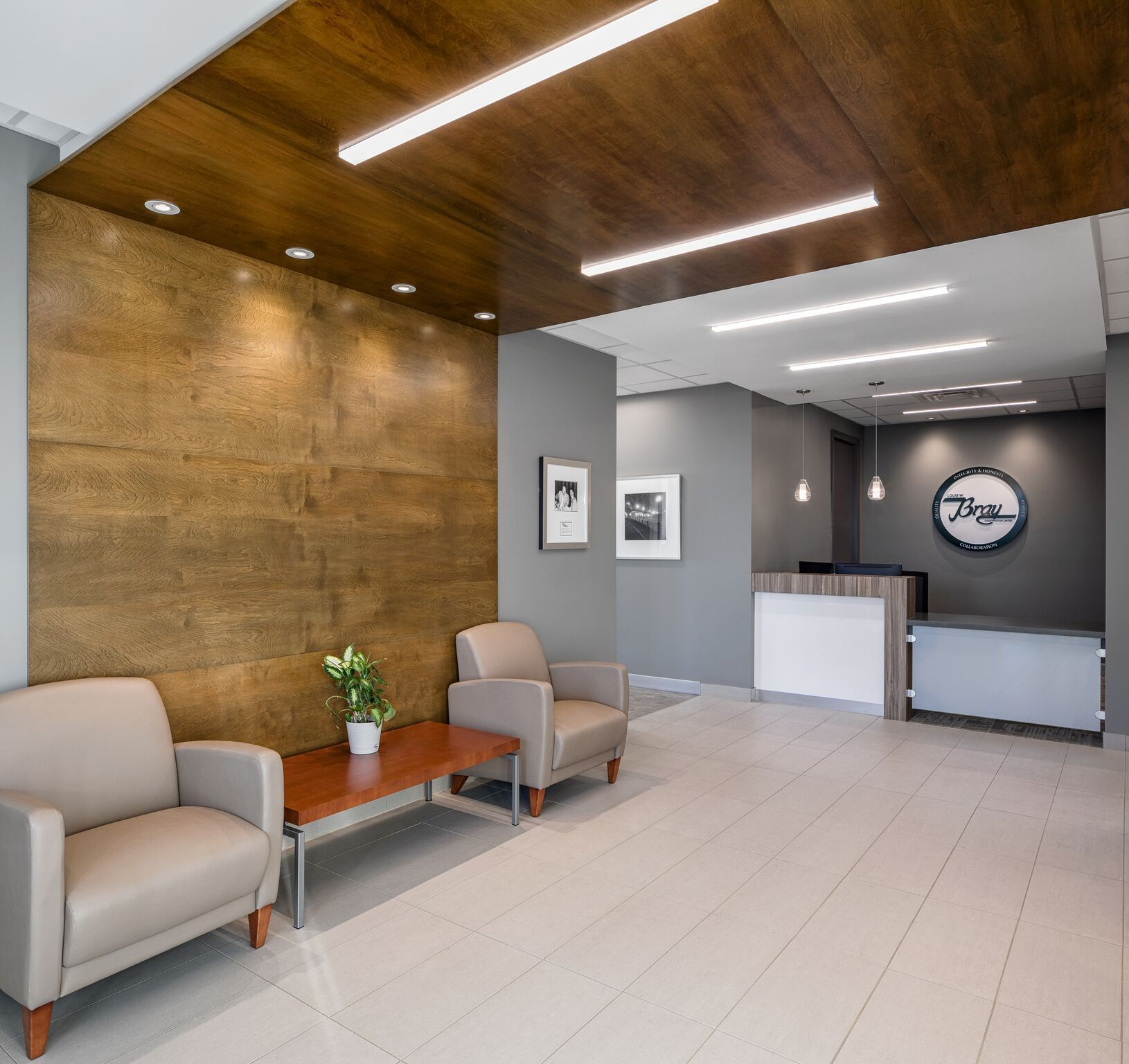 Louis W Bray Construction Head Office  Project By Parallel