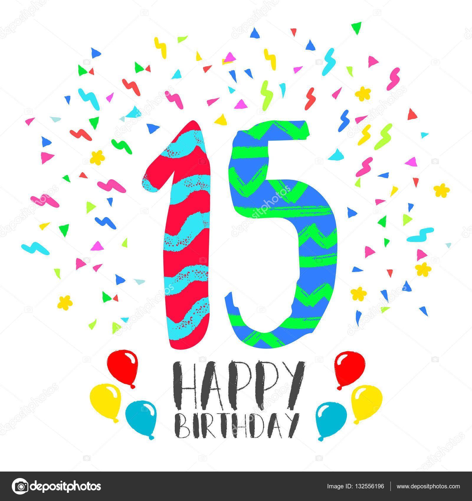 Welp Verjaardag 15 Jaar | Verjaardag, 18e verjaardag, 15 jaar II-39