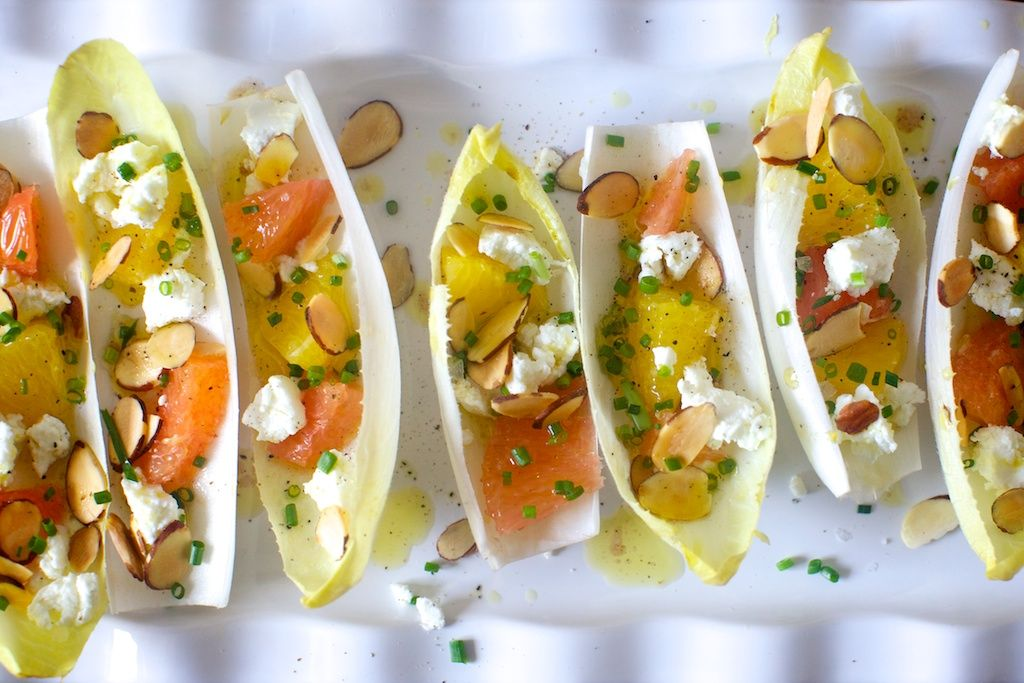 endives with oranges and almonds – smitten kitchen