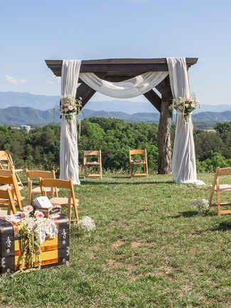 19 Stunning Outdoor Wedding Arch Ideas   TheKnot.com