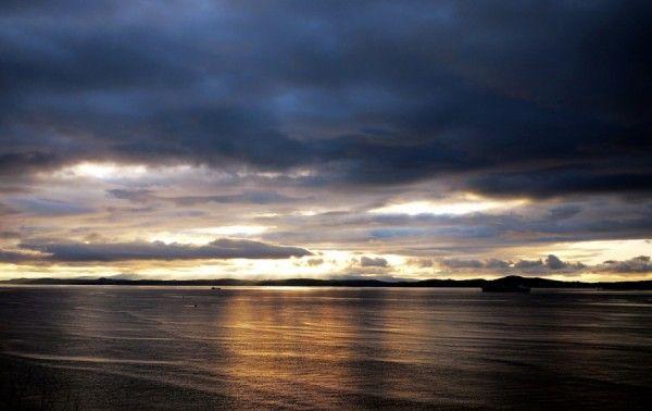 Sunset in Western Scotland