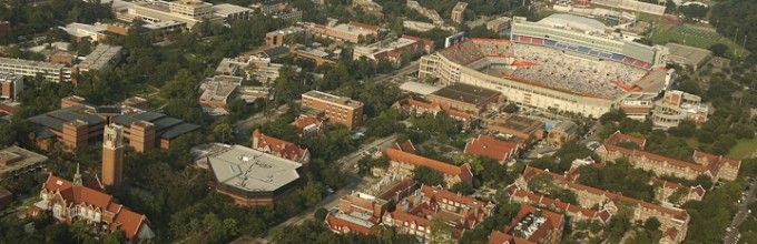 Campus pic!  Of course, Ben Hill Griffin Stadium is one of my favorite on campus places!