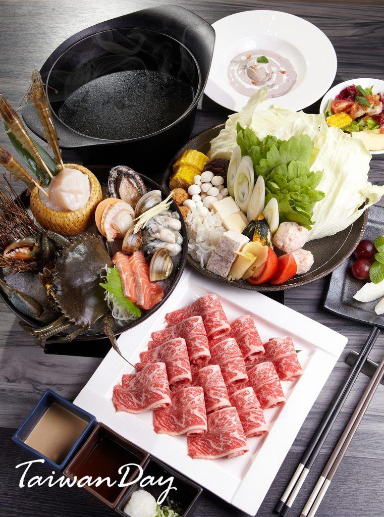 台北美食 合 Shabu 高檔健康鍋物 华丽的美食飨宴 อาหาร อาหารและ