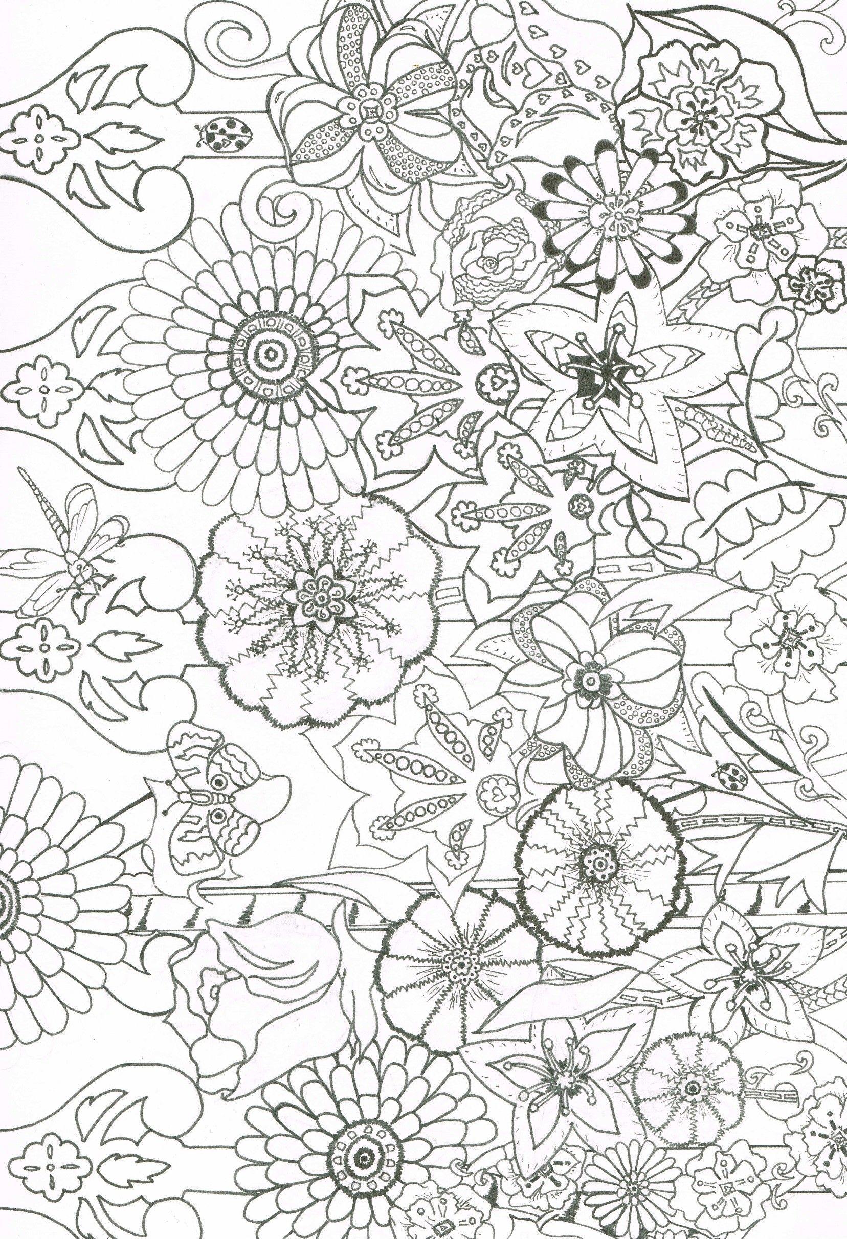 Glorious Garden Coloring Book