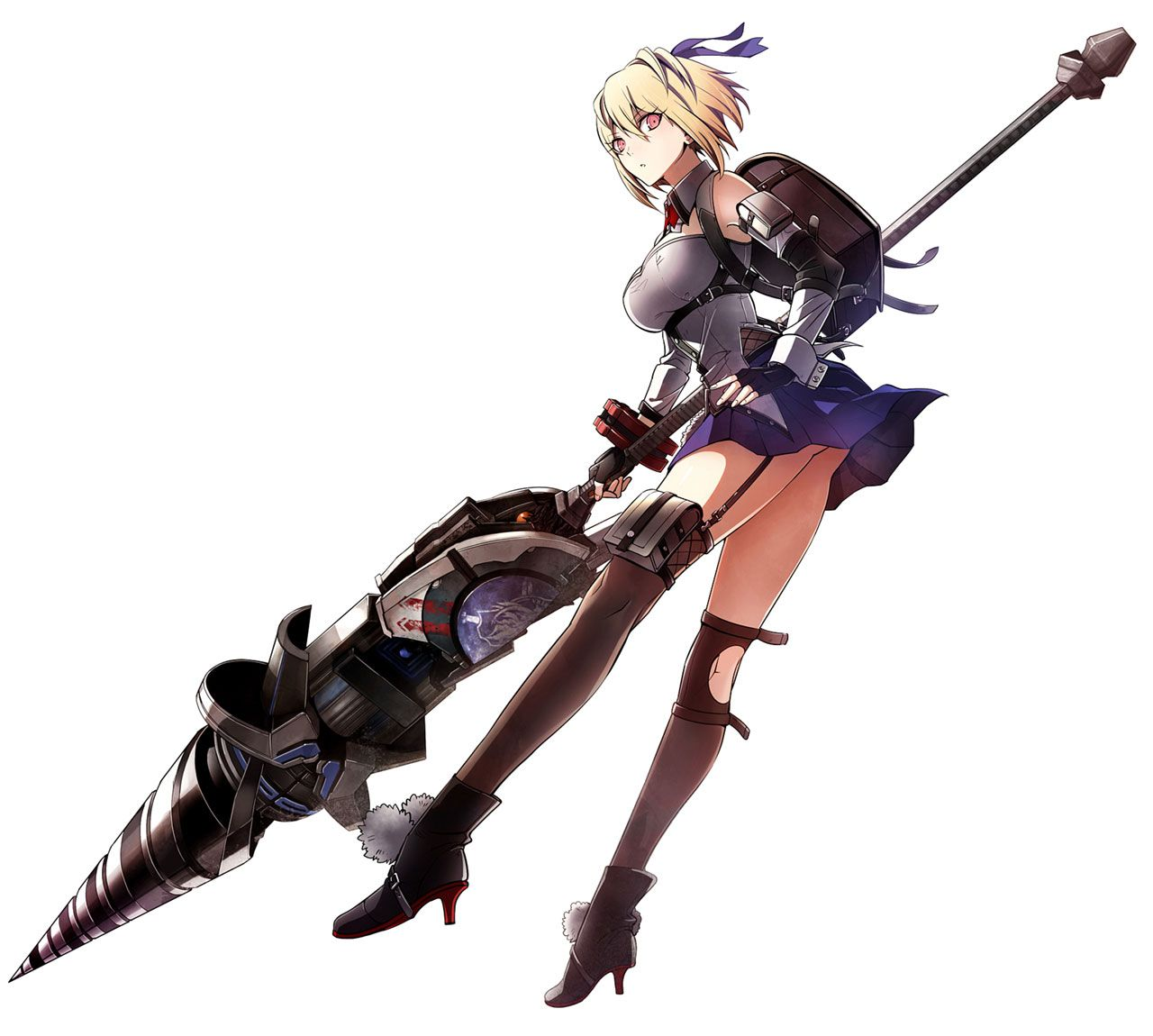 Claire Victorious Art from God Eater 3 Art from God Eater